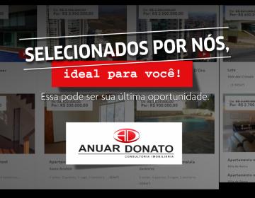 Anuar Donato seleciona imóveis com descontos que vão a quase 1 milhão de reais