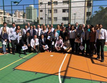 Equipe da Anuar Donato faz visita técnica ao edifício Gran Maggiore, no Gutierrez