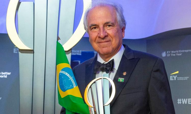 Rubens Menin, fundador da MRV, é eleito Empreendedor Mundial do Ano da EY de 2018